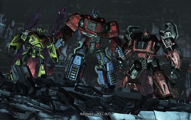 Transformers: War for Cybertron. А Зори здесь Кричащие