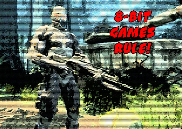 Retro gaming – Can we show our faces now?