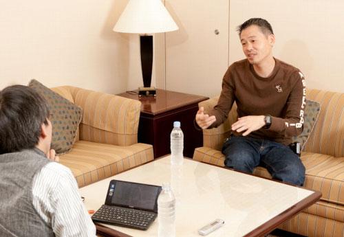 Интервью с Кейдзи Инафуне