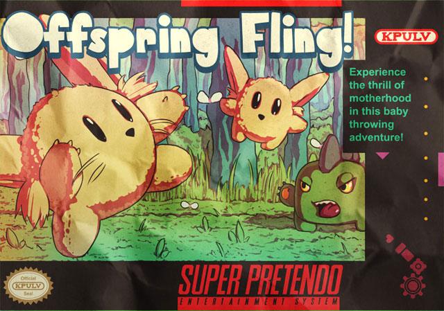 Offspring Fling! – 16-битное бросание детьми