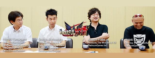 Iwata Asks The Wonderful 101. Часть вторая — Команда разработки