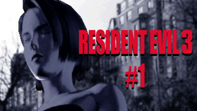 Сыграем в Resident Evil 3 №1
