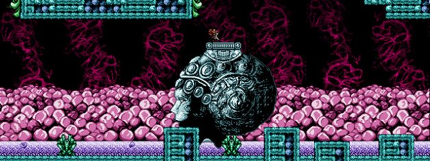 Axiom Verge. Super Gigeroid