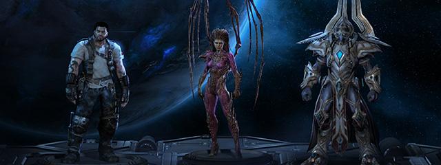 StarCraft II как история