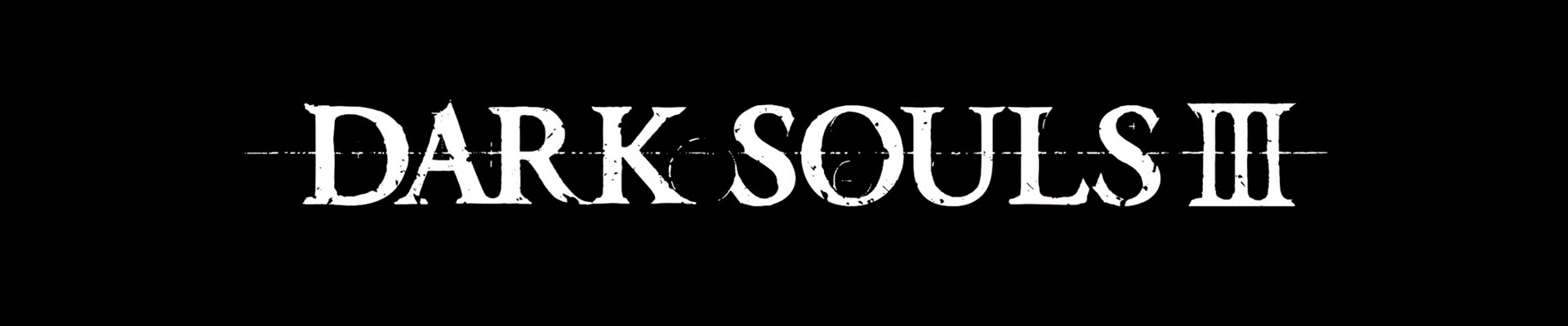 Quick thoughts on: Dark Souls III