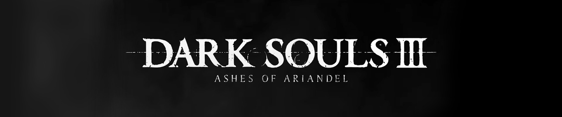 Dark Souls III — Ashes of Ariandel. Faded colours
