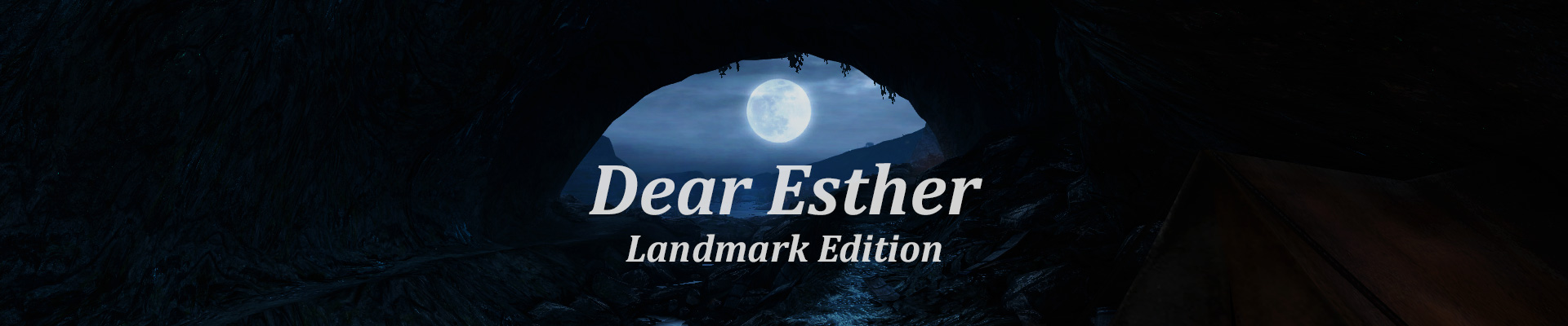 Thoughts on: Dear Esther. Landmark Edition