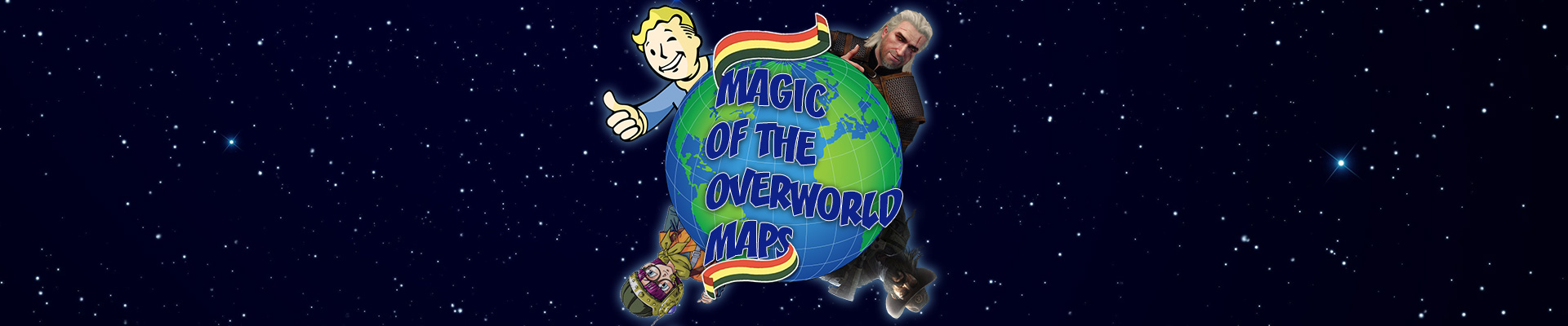 Gamer talk on game design: Magic of the overworld maps
