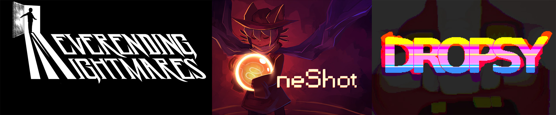 Мысли про: Neverending Nightmares, Dropsy и OneShot