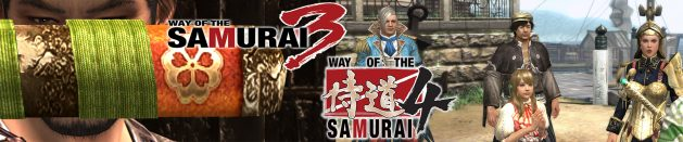 Quick thoughts on Way of the Samurai 3 & 4