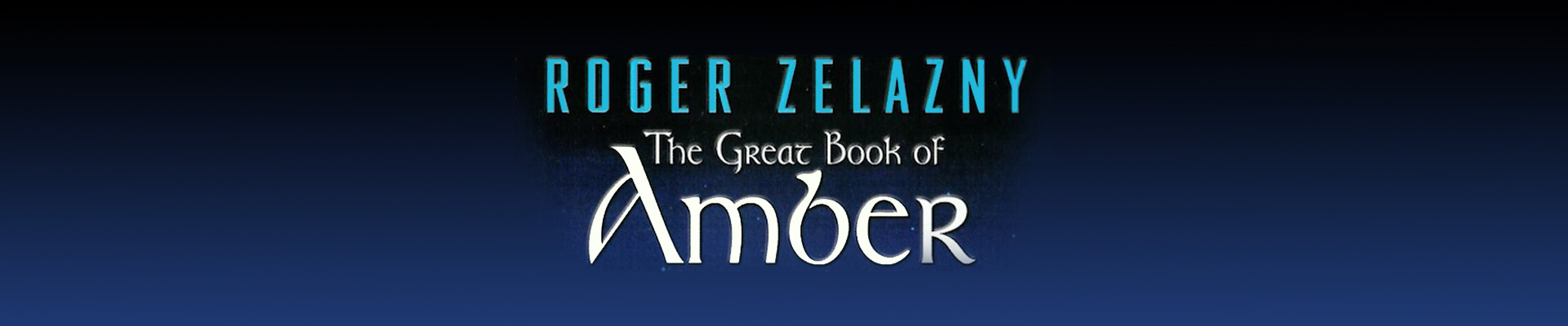 Returning to The Chronicles of Amber